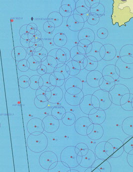 mooring field map